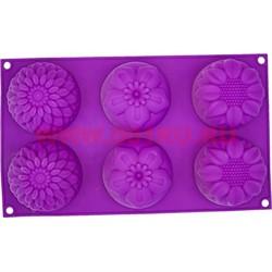 Форма для выпечки и заморозки (2167) силиконовая 17х29 цена за 100 шт, цвета в ассортименте - фото 46635
