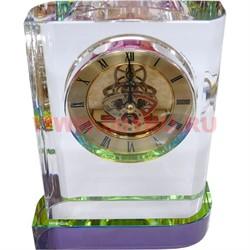 Часы стеклянные - фото 46638