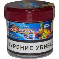 """Табак для кальяна оптом Al Ganga Ice 40 гр """"Тутти-фрутти"""" (с акцизной маркой) - фото 46644"""