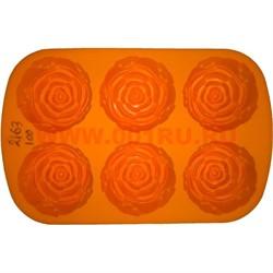 Форма для выпечки и заморозки (2163) силиконовая 18х28 цена за 100 шт, цвета в ассортименте - фото 46646