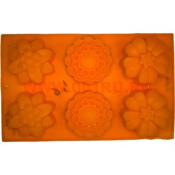 Форма для выпечки и заморозки (2166) силиконовая 18х28 цена за 100 шт, цвета в ассортименте - фото 46653