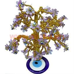 """Дерево счастья """"От сглаза"""" с золотыми бусинами - фото 46673"""