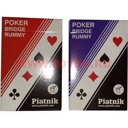 Карты для покера и бриджа Platnik, цена за 2 упаковки - фото 46682