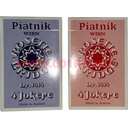 Карты для покера Platnik 4 Джокера, цена за 2 упаковки - фото 46686