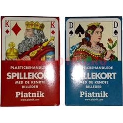 Карты для покера Platnik Spillekort, цена за 2 упаковки - фото 46692