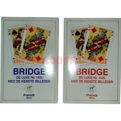 Карты для бриджа Platnik 1415, цена за 2 упаковки - фото 46696