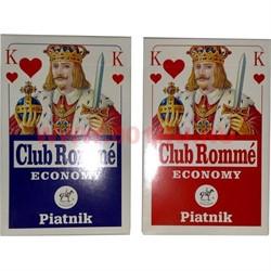 Карты для покера Platnik Club Romme, цена за 2 упаковки - фото 46702