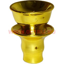 Чашка керамическая золотая 25 мм внутренний диаметр - фото 46745