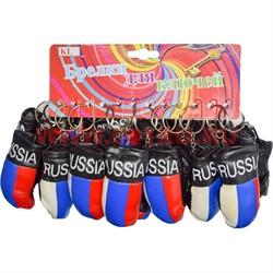 Брелок (KL-747) перчатки боксерские Россия 120 шт/блок - фото 46811