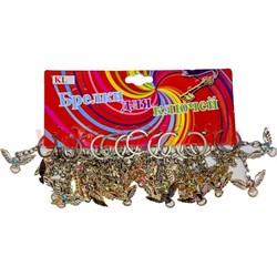 "Брелок ""череп с крыльями"" (KL-572-696) цена за 120 шт - фото 46866"