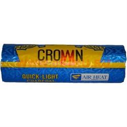 Уголь для кальяна CARBOPOL Crown 40 мм 100 таблеток - фото 46871
