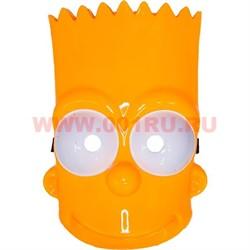 Маска Барт Симпсон из толстого пластика - фото 46946