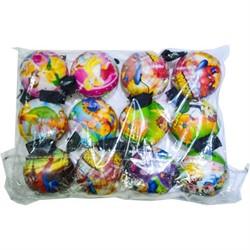 Мячик на веревке 60 мм (Y0Y0-03) цена за 720 шт (рисунки микс) - фото 47201