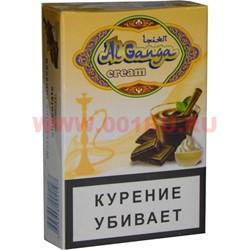 """Табак для кальяна Аль Ганжа Крем """"Шоколад"""" 50 гр (с акцизной маркой) - фото 47207"""