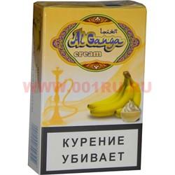 """Табак для кальяна Аль Ганжа Крем """"Банан"""" 50 гр (с акцизной маркой) - фото 47217"""