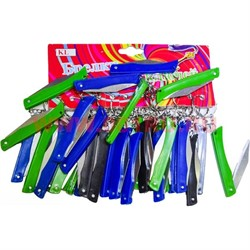 Брелок (KL-508) нож цветной, цена за 120 шт (1200 шт/кор) - фото 47251
