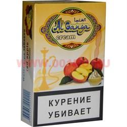 """Табак для кальяна Аль Ганжа Крем """"Красное яблоко"""" 50 гр (с акцизной маркой) - фото 47256"""