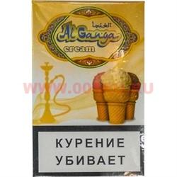 """Табак для кальяна Аль Ганжа Крем """"Мороженое"""" 50 гр (с акцизной маркой) - фото 47270"""