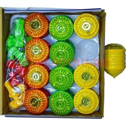 """Игрушка """"юла"""" цветная, цена за 12 шт - фото 47322"""