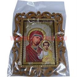 "Икона 14*0,3*10 ""Богородица с младенцем"" - фото 47571"
