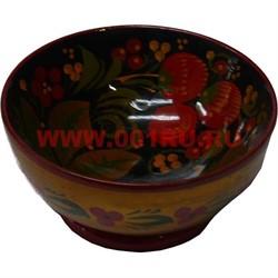 Тарелка хохлома размер 5*10*10 - фото 47585