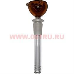 Трубка для бонга стеклянная d-15 мм 14,5 см длина - фото 47673
