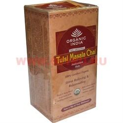 Чай индийский Tulsi Masala Chai 25 пакетиков (Масала чай) - фото 47677