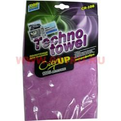 Салфетка из микрофибры (CA-108) Techno Towel для техники 42х64 см - фото 47849