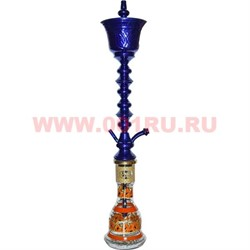 """Кальян Халил Мамун """"шериф"""" темно-синий 83 см - фото 47877"""