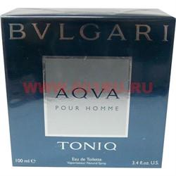 """Туалетная вода Bulgari """"Aqua Toniq pour homme"""" 100 мл мужская - фото 47973"""