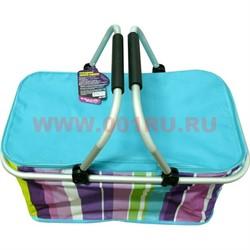 Складная сумка-термос из нейлоновой ткани и многослойного теплоизолятора - фото 48002