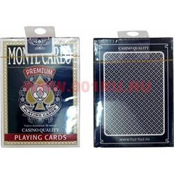 Карты для покера Monte Carlo Premium, цена за 2 упаковки - фото 48397