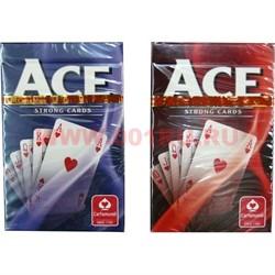 Карты для покера Cartamundi Ace, цена за 2 уп, 100% пластик - фото 48415