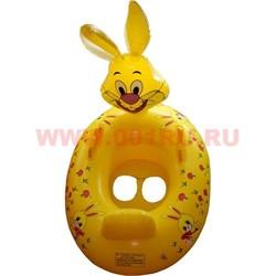 Надувной детский плотик «Зайчик» 6 шт/уп - фото 50600