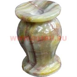 Подсвечник 5,5 см (1,5х3) из оникса 6 в 1, цена за шт - фото 55764