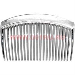 Гребень для волос прозрачный (AL-112) цена за 24 шт - фото 57692