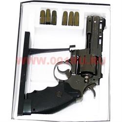 Зажигалка-револьвер с патронами  на подставке большой - фото 65636