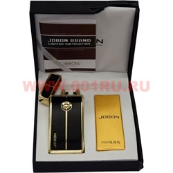 Зажигалка Jobon разрядная черная с зарядкой от USB - фото 73215