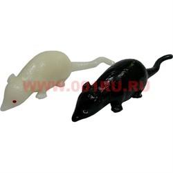"""Лизуны """"Мышки"""" черные и белые (24 шт/уп) - фото 81382"""