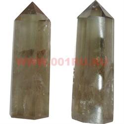 Кристалл 7,5 см из раухтопаза 6-гранный - фото 84458