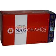 Благовония Vijayshree Golden Nagchampa 15гр Х 12 уп