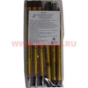Карандаш для век и бровей Ffleur ES-7616 Black (черный) 6 штук