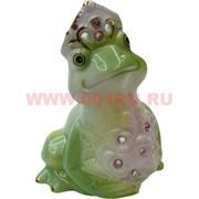 Лягушка-царевна из фарфора 11,5 см