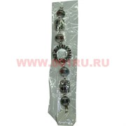 Часы с камнями (M-103) разнокамни круг-квадрат цена за упаковку из 12шт