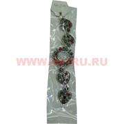 Часы с камнями (M-103) разнокамни сердечком цена за упаковку из 12шт