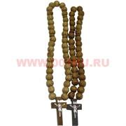 Чётки христианские деревянные (H-34) цена за упаковку из 12шт