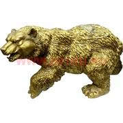 Медведь большой, бронза