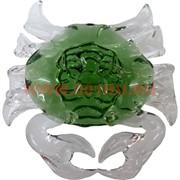 Кристалл «Краб большой» зеленый, цена за шт