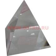 Кристалл «Пирамида» прозрачная 5 см в мягкой упаковке