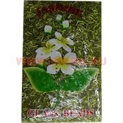 Стеклярус для бисероплетения №24 желто-зеленый